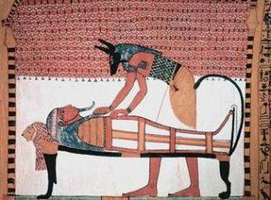 ókori sebészet egyiptomi festményen